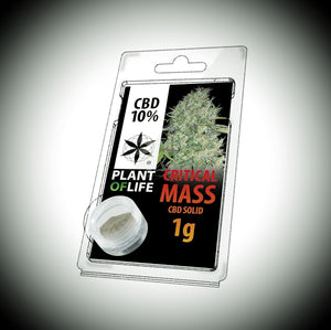 Pollen CBD 10% CRITICAL MASS 1g - World Of CBD France