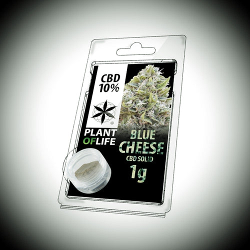 Pollen CBD 10% BLUE CHEESE 1g - World Of CBD France