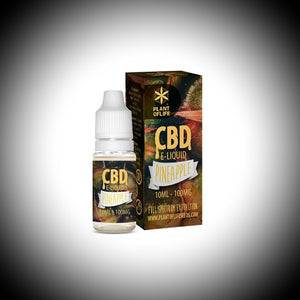 "e-liquide CBD Plant Of  Life ""PINE APPLE"" 10ml 100Mg - World Of CBD France"