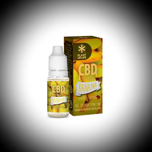 "e-liquide CBD Plant Of  Life ""BANANA"" 10ml 100Mg - World Of CBD France"