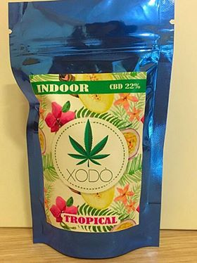 FLEURS CBD XODÒ TROPICAL 22% - World Of CBD France