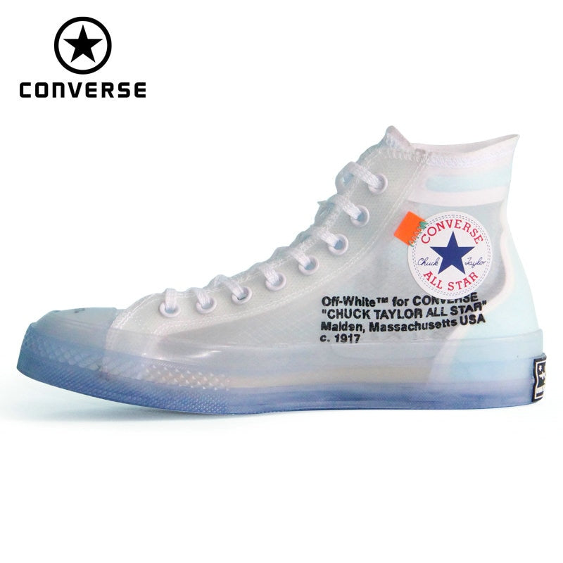 Converse OFF WHITE 1970s lucency all star Vintage shoes men and women