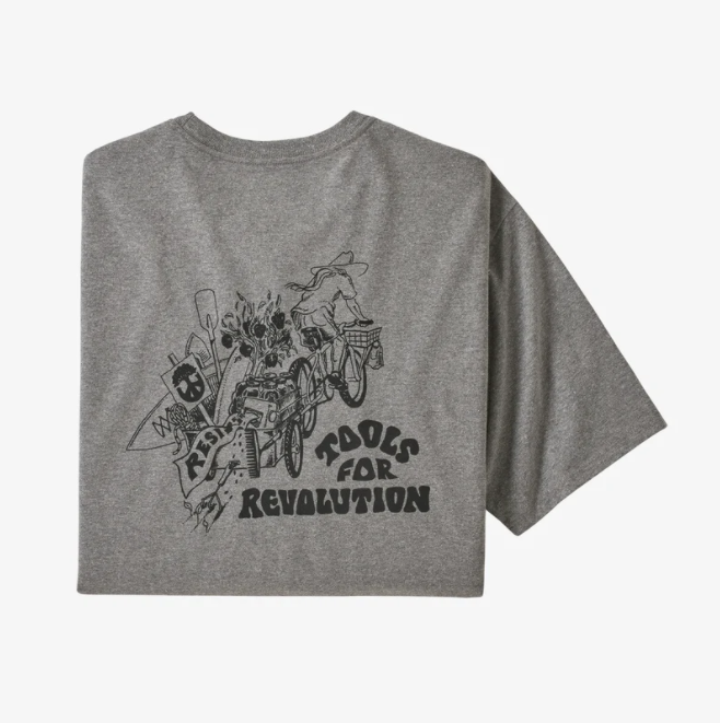 Patagonia M's Tools For Revolution Responsibili-Tee Grey