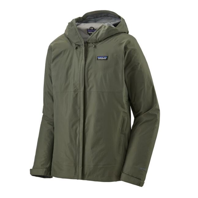 Patagonia M's Torrentshell 3L Jacket Green - SantoLoco Hawaii
