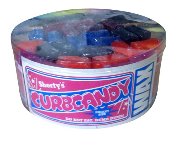 Shorty's Curb Candy Wax 25 Piece Container Multi Color - SantoLoco Hawaii