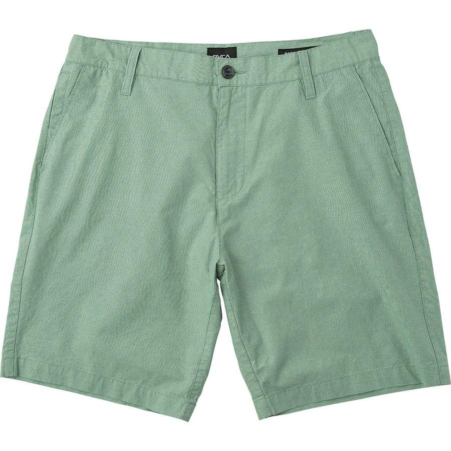 RVCA That'll Walk Oxford Shorts Green - SantoLoco Hawaii