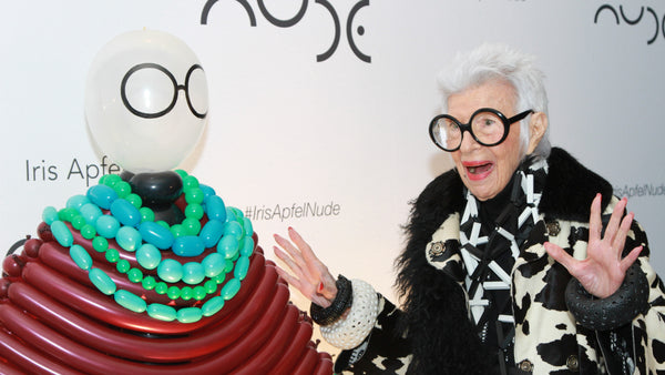 Iris Apfel X NUDE - The launch event in NYC