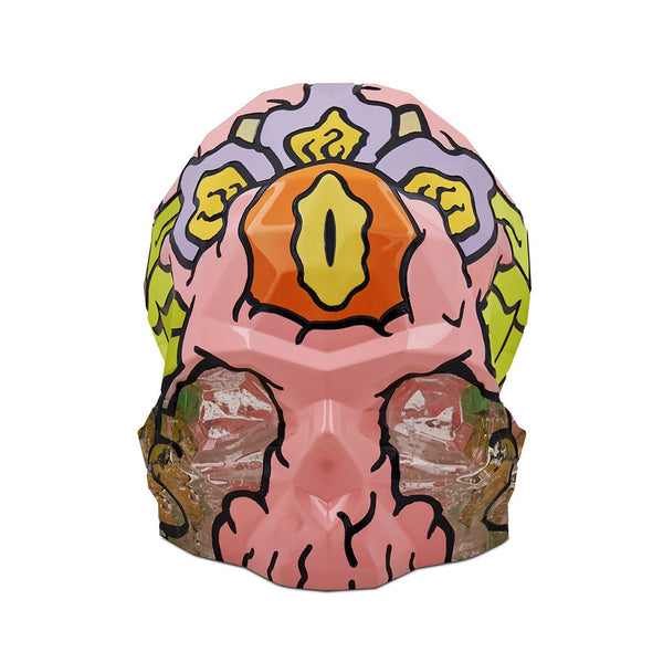 NUDE Rock and Pop Artist Collection Skull Large by Cins3000 front view