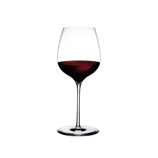 Dimple@Set of 2 Elegant Red Wine Glasses