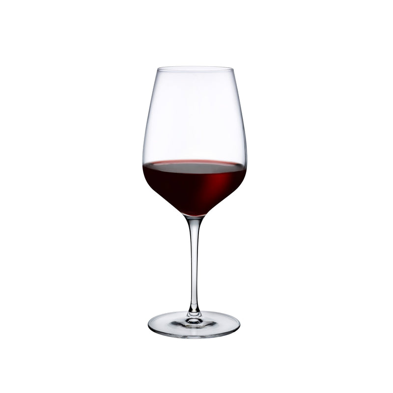 Refine@Set of 2 Red Wine Glasses