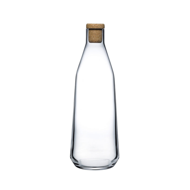 Rhythm@Water Carafe Clear with Cork Stopper