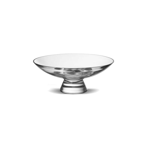 Nude Glass Silhouette Bowl medium in clear lead-free glass