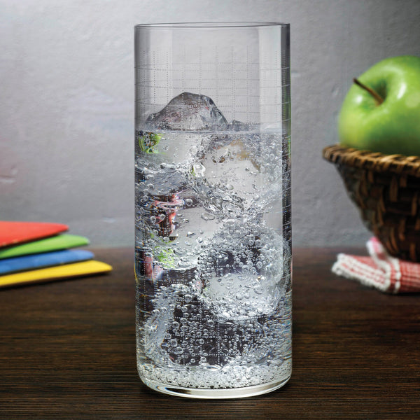 Finesse Grid@Set of 4 High Ball Glasses