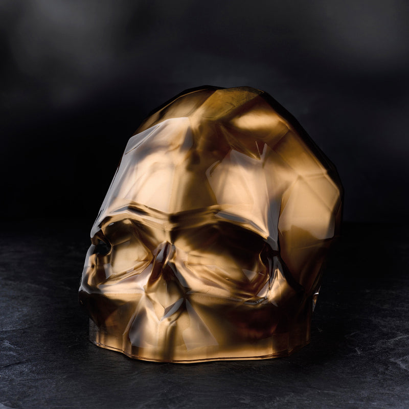 Memento Mori@Faceted Skull Copper Large