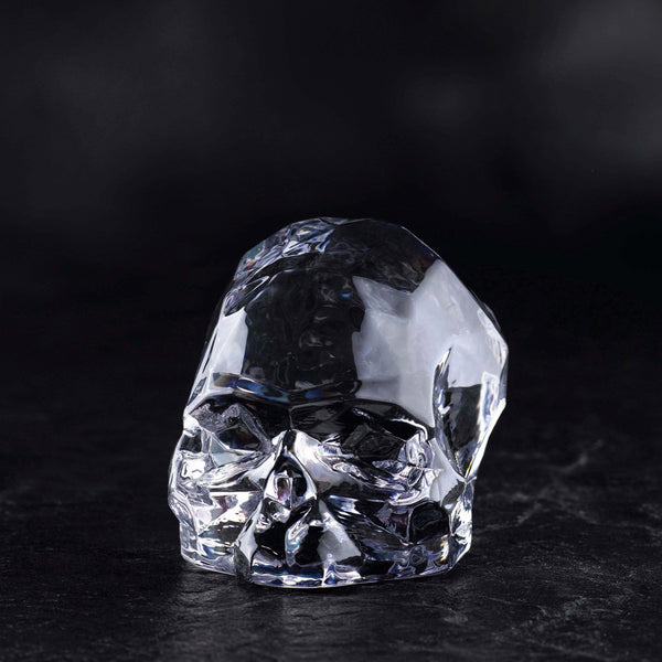 Memento Mori@Faceted Skull Clear Large