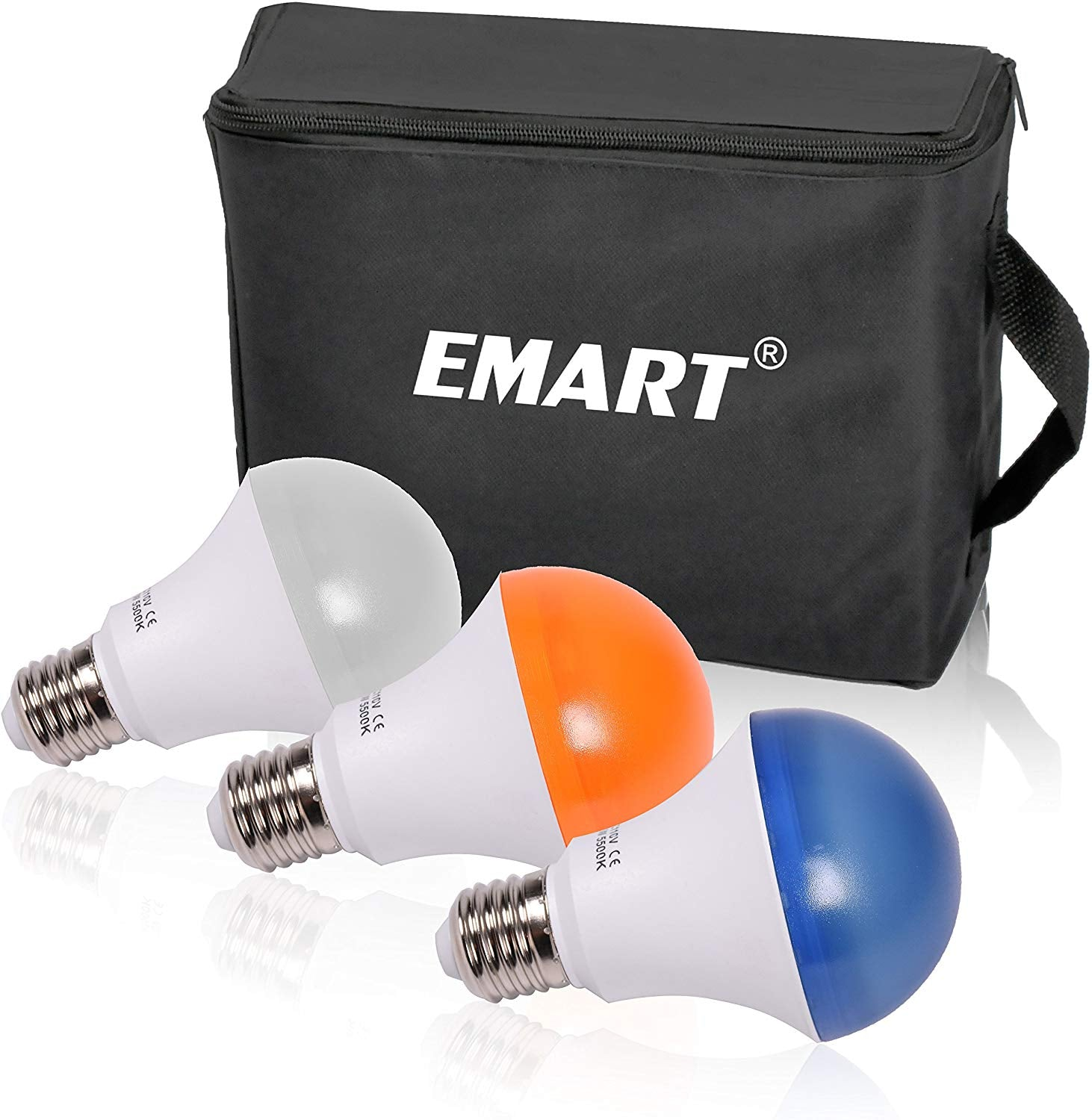 Emart Studio LED Photography Umbrella Lighting Kit, 500W 5500K LED Photo Lights