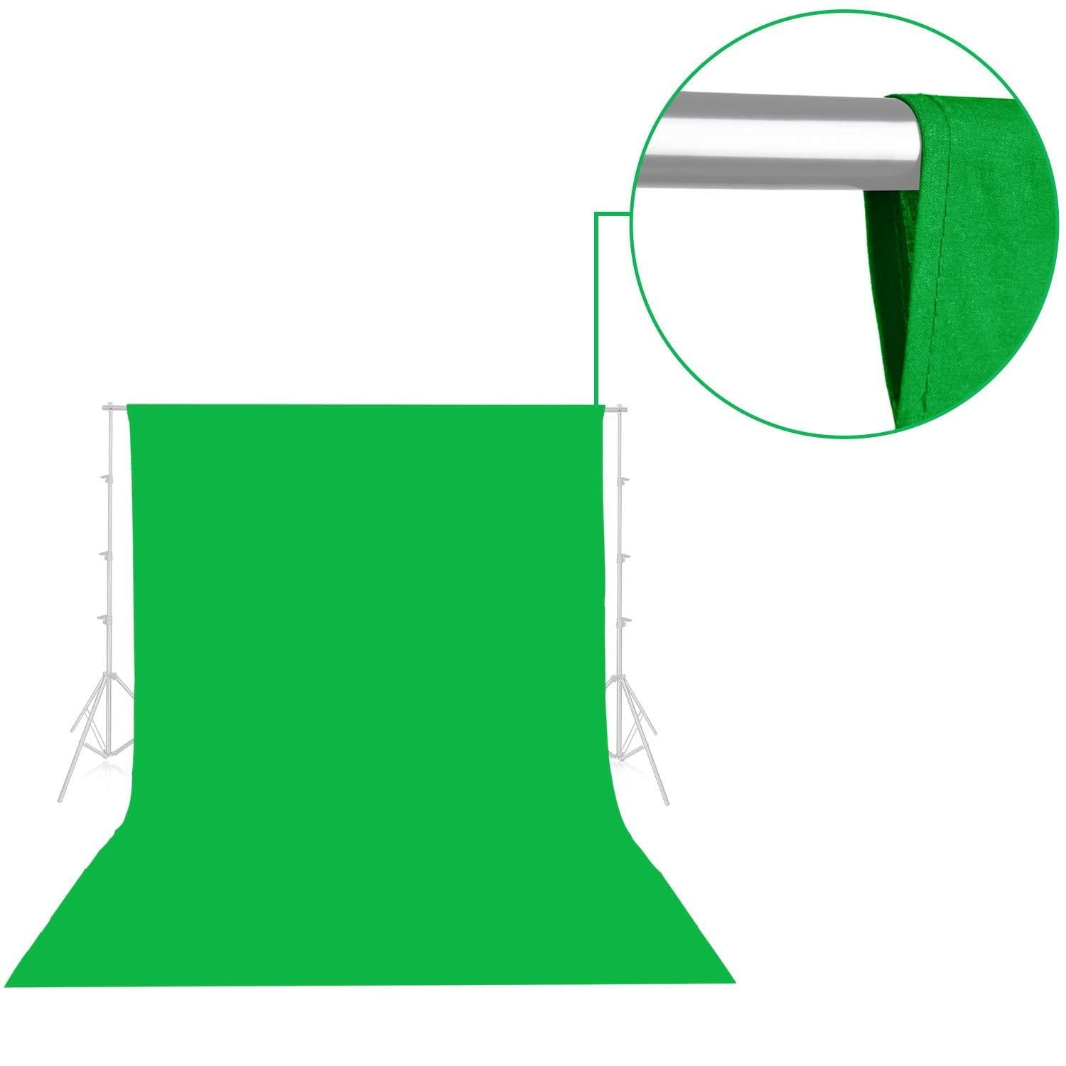 Emart Green Backdrop Background Screen 10 x 15ft - EMART8