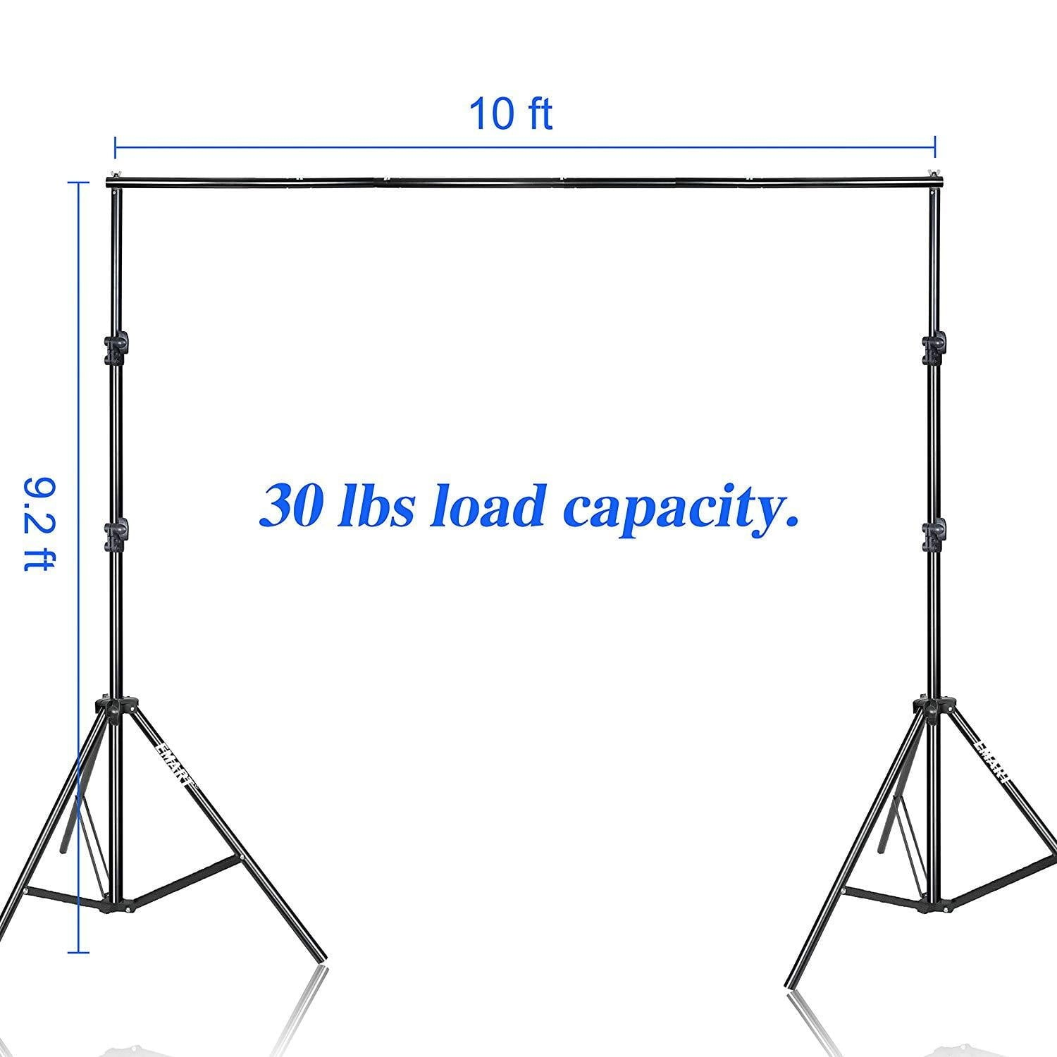 Emart Photo Video Studio 9.2 x 10ft Heavy Duty Background Stand - EMART8