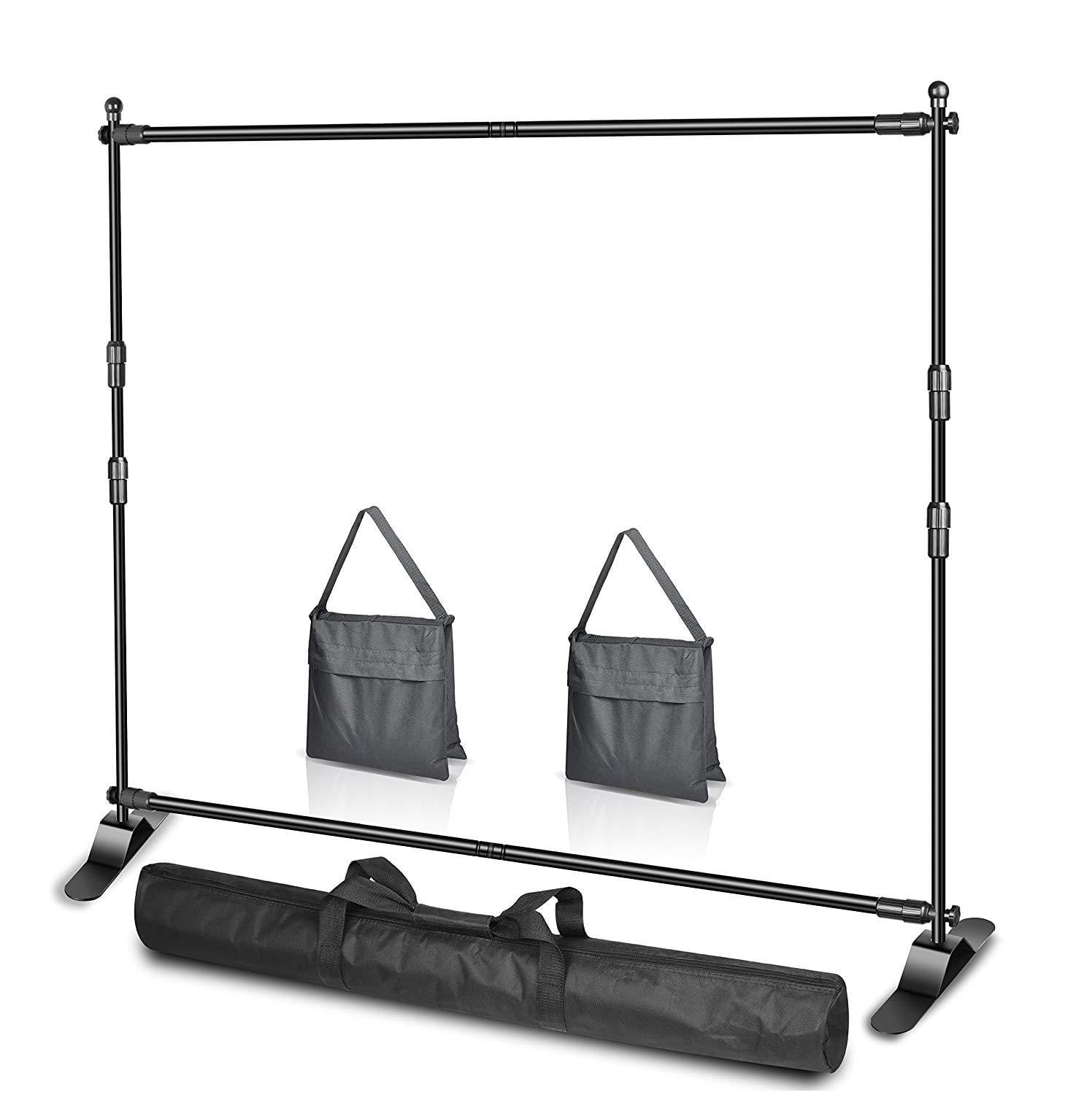 Emart 10 x 8ft (W X H) Photo Backdrop Banner Stand - EMART8