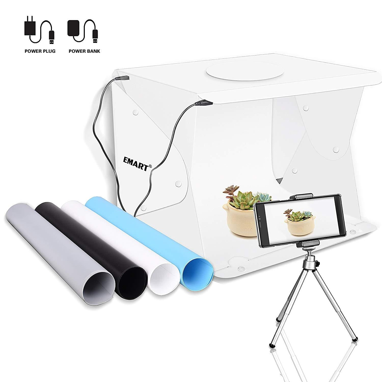 "Emart 14"" x 16"" Portable Photo Studio Shooting Tent - EMART8"
