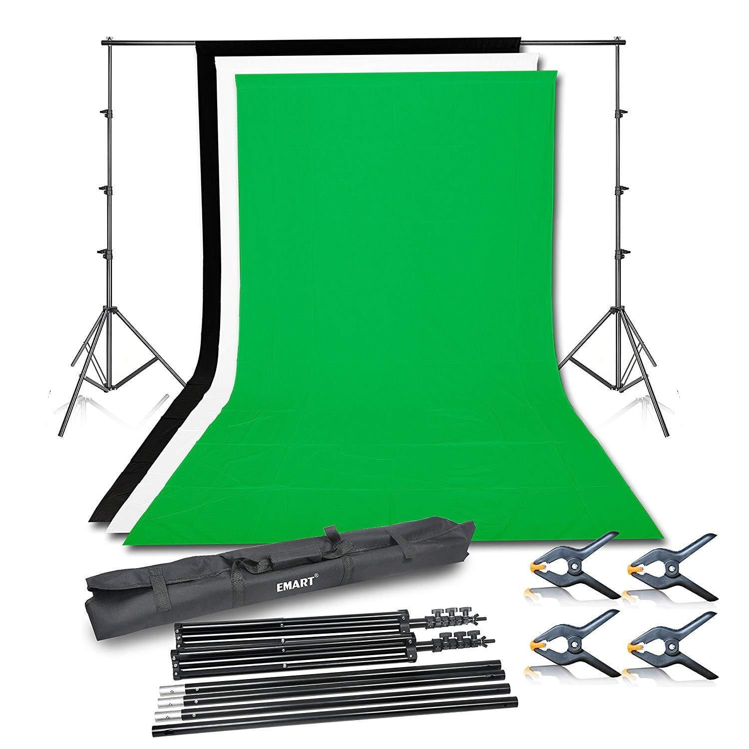 Emart Photo Video Studio Background Backdrop Stand Kit - EMART8