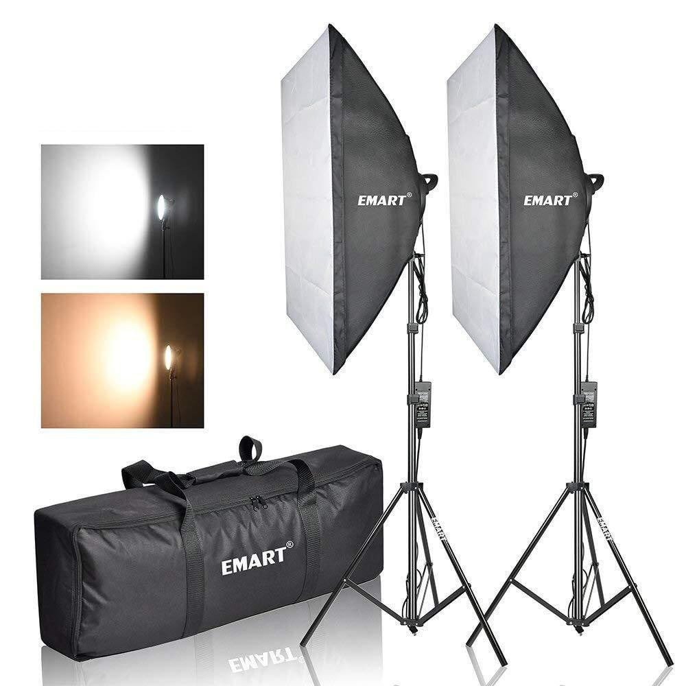 Emart Photography Softbox Lighting Kit, Photo Equipment Studio - EMART8