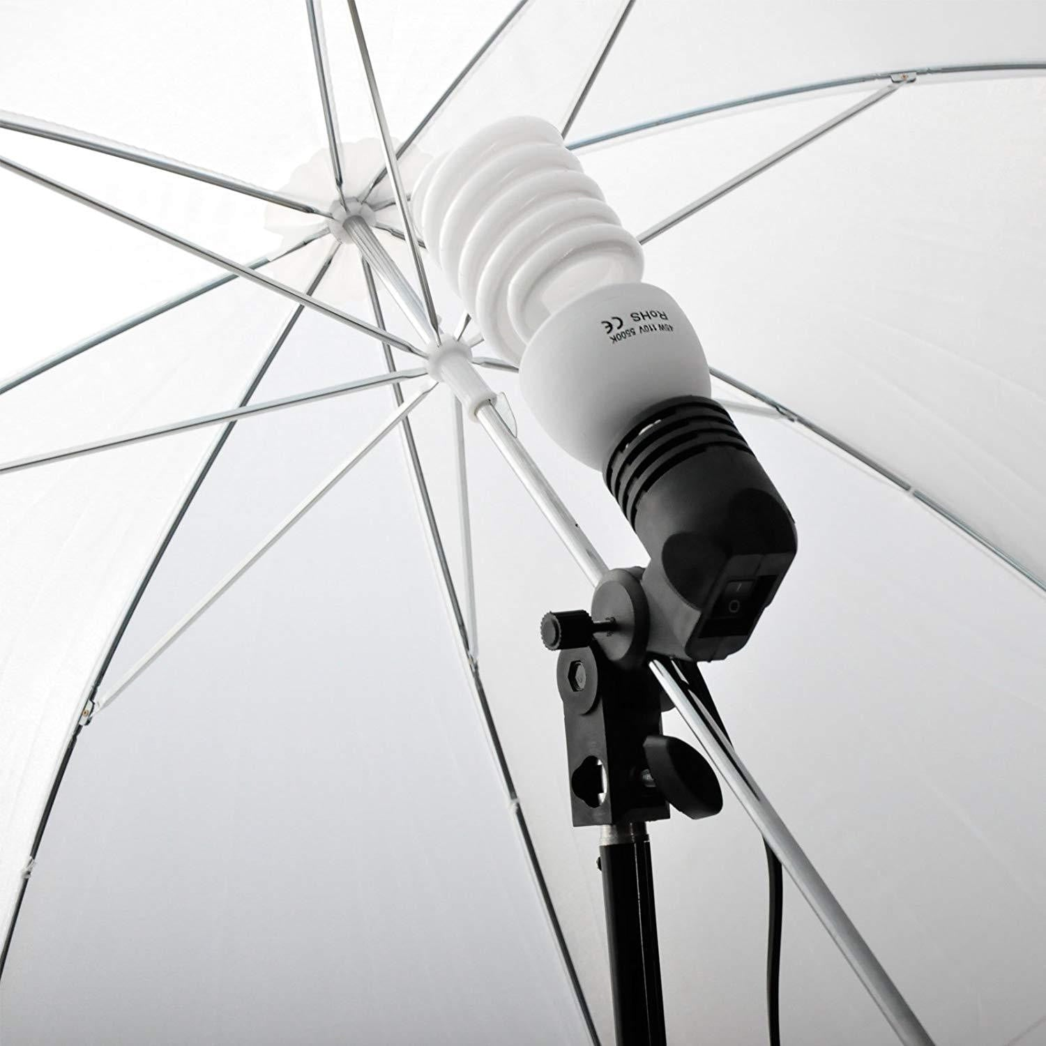 Emart Photography Umbrellas Continuous Lighting Kit - EMART8