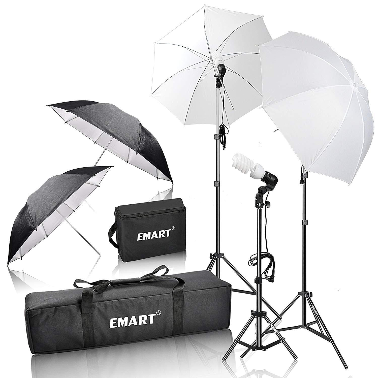 Emart 600W Photography Photo Video Portrait Studio - EMART8