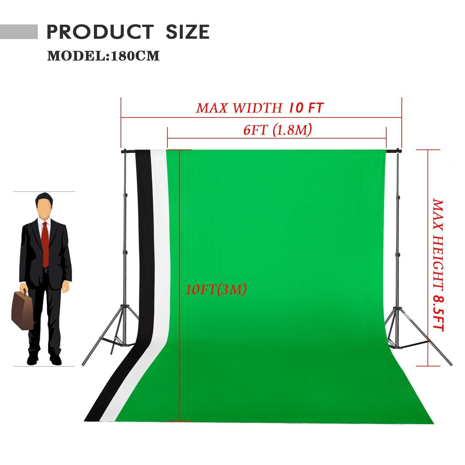 Emart 8.5 x 10 ft Backdrop Support System, Photography Video Studio - EMART8