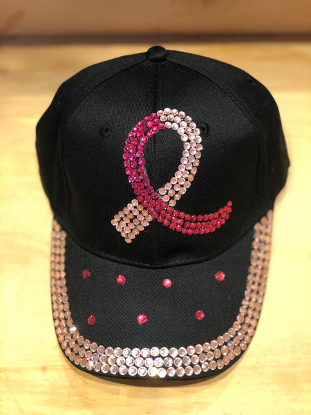 Pink / Black / Denim Ribbon Caps