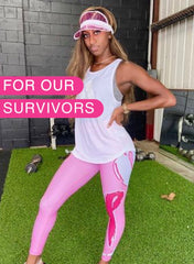 #DatSURVIVORPink Leggings