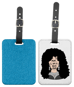 Cher  - Mom I am a Rich Man Luggage Tag