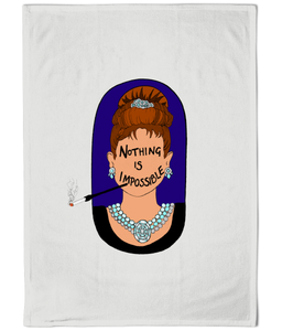 Audrey Hepburn Cotton Tea Towel