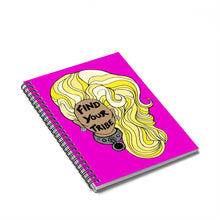 RuPaul Find Your Tribe Spiral Notebook Bullet Journal