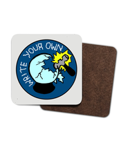 Crystal Ball - Write Your Own - Wooden Coasters