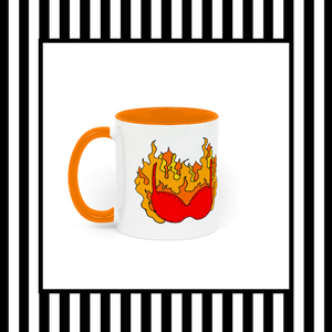 Burn Your Bra Mug