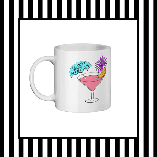 Hen Party - Drinkies Before Winkies Mug