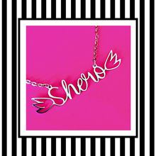 Shero Feminist Silver Necklace