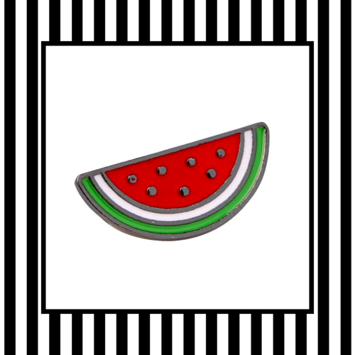 Watermelon Slice Enamel Pin Badge