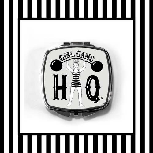 Girl Gang HQ Compact Mirror