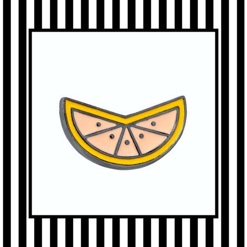 Citrus Slice Enamel Pin