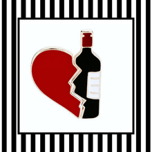 Wine Lover Enamel Pin Set