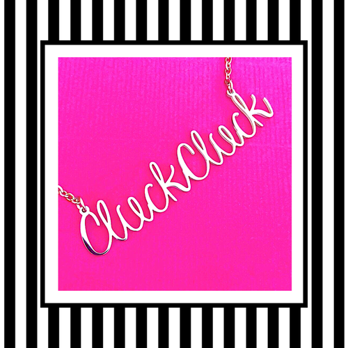 Cluck Cluck Hen Party Gift Necklace