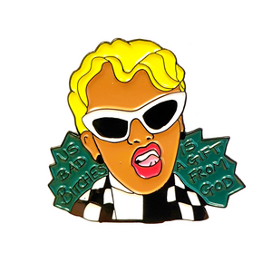 Cardi B Gift From God Enamel Pin