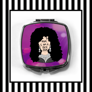 Cher Compact Mirror purple