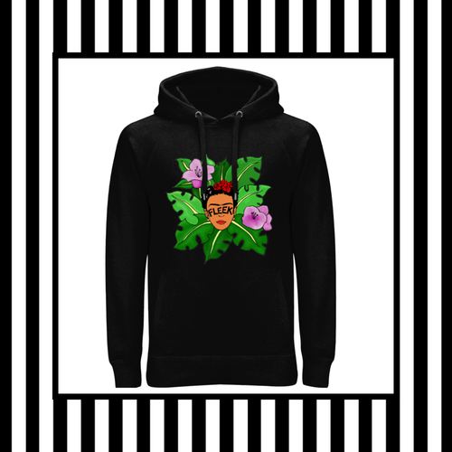 Frida Kahlo Brows on Fleek Jungle Fleek Unisex Hoodie