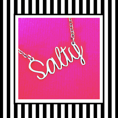 Salty Silver Necklace