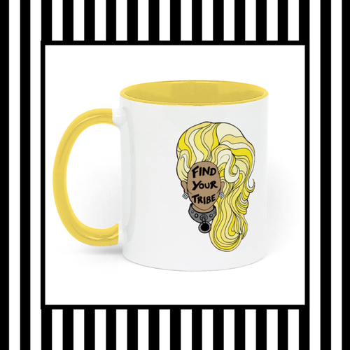 RuPaul Find Your Tribe Ceramic Mug