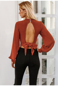 Brittany Backless Top