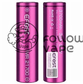 EFEST IMR21700 3700MAH 35A  RECHARGEABLE BATTERY FLAT TOP - Follow Vape